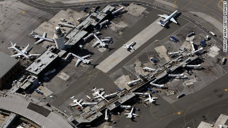There have been two minor collisions on the ground at La Guardia this week.