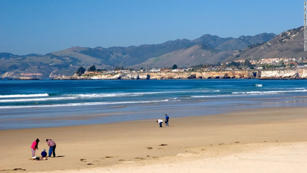 The mellow central California coastal town of San Luis Obispo offers gorgeous beaches and easy access to wine country.