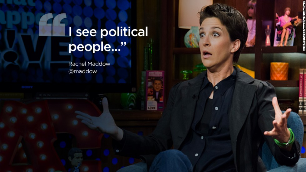 Twitter quotes RAchel Maddow