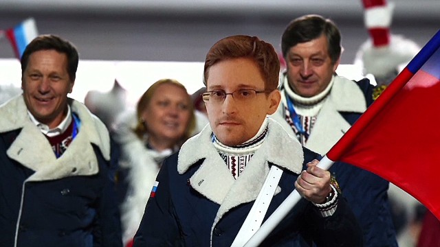 Edward Snowden a no show at Sochi
