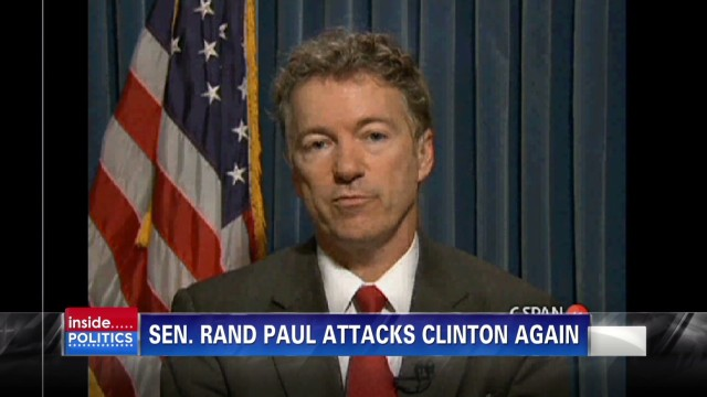 Sen. Rand Paul slams Clinton again