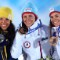 sochi winners day one Bjoergen medal