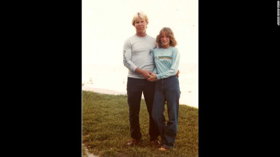 "Jordan and Beth Schwein met in the summer of 1979 through a church youth group in the Washington area. Several months later, they went on their first date. She admits having a crush on Jordan, and he says he was ""immediately smitten."" They dated throughout high school."