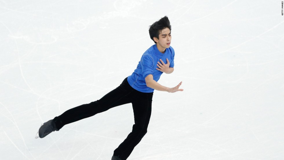 There are 88 countries participating at the Winter Olympics in Sochi, but some countries are only sending one athlete. One is the Philippines, represented solely by 17 year-old skater Michael Christian Martinez, a talented teen who has overcome asthma to qualify for the Games.