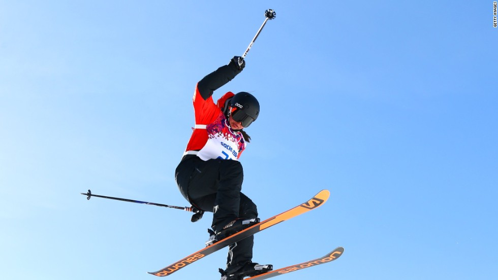 Hailing from landlocked Paraguay, 21 year-old Julia Marino learned to ski in the Northeast United States but hopes to claim gold for the country where she was born.