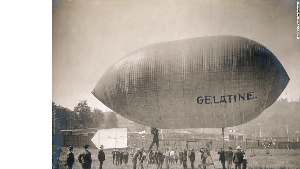 Another of the world's oldest airports, Pearson Air Field in Vancouver, Washington, dates back to 1905, when it welcomed the arrival of a blimp named Gelatine.
