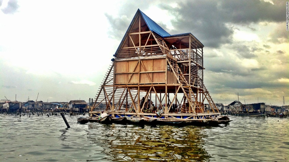"38-year-old architect <a href=""http://www.nleworks.com/team-member/kunle-adeyemi/"" target=""_blank"">Kunlé Adeyemi </a>designs buildings that float to confront issues affecting communities living on the water's edge."