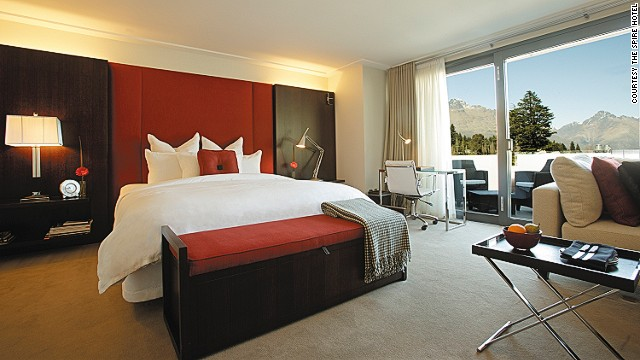 Design classics in each room at the Spire.