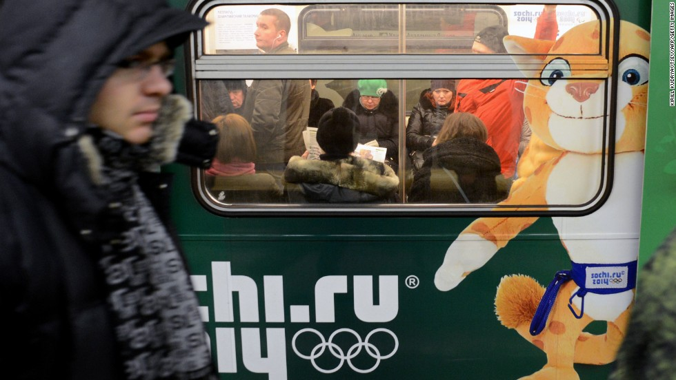 Especially in winter, Russians like to turn up the heat -- whether in public transportation or hotel rooms.