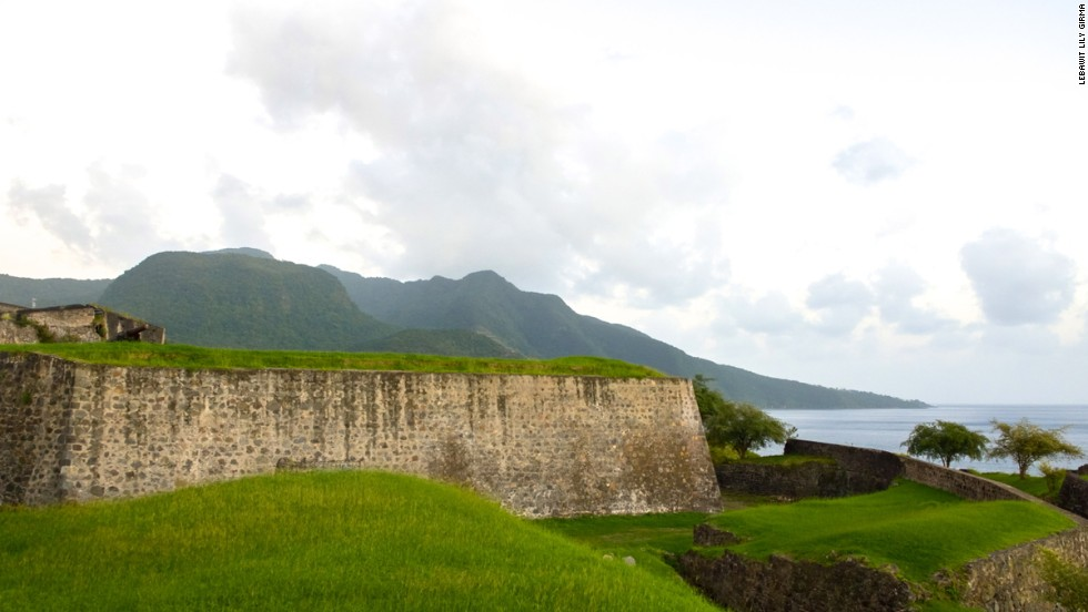Guadeloupe is dotted with ancient forts -- remnants of a colonial tugs of war between the French and British.