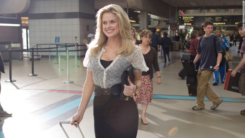 Our hero, a courteous TSA agent played by Jay Baruchel, connects with a beautiful girl (Alice Eve) who fortuitously left her cell phone at a security checkpoint. Why doesn't airport security go this well for us?