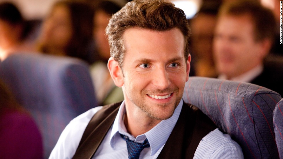 Is Holden Wilson (Bradley Cooper) flirting with a military officer, played by Julia Roberts, on an airplane? Or does he have another agenda?