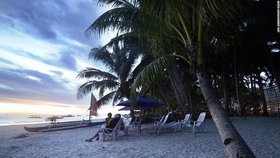 Sundowners, anyone? Just another perfect day in Boracay.