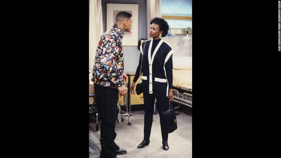 "Janet Hubert as Vivian Banks, an educator, in ""The Fresh Prince of Bel-Air."""