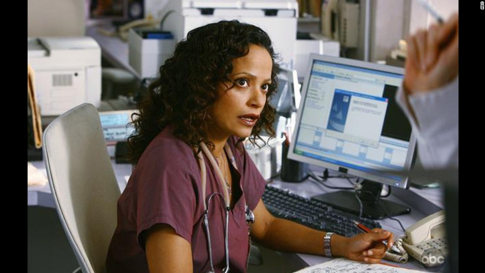 "Judy Reyes as nurse Carla Espinosa in ""Scrubs."""