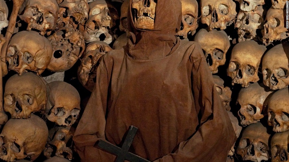 Visit the Capuchin ossuary beneath the church of Santa Maria della Concezione, where the bones of 4,000 monks decorate the crypt.