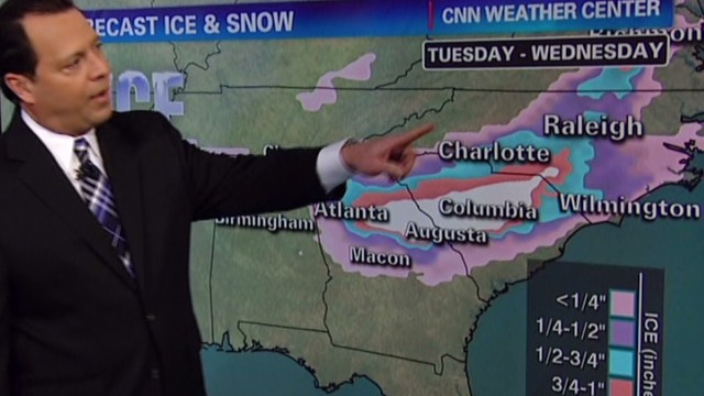 Forecast: Crippling, catastrophic ice