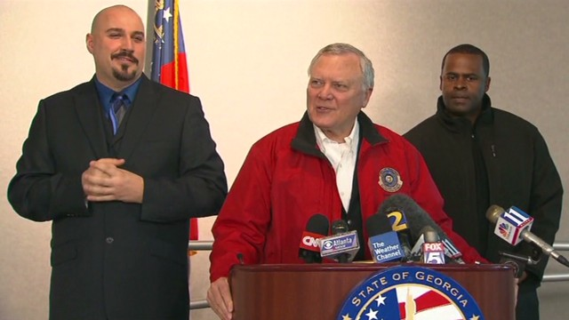Georgia governor: It's not end of the world