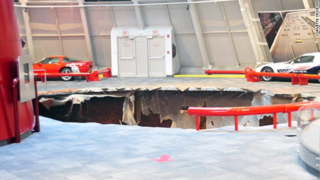 Museum Exec: Sinkhole out of the blue
