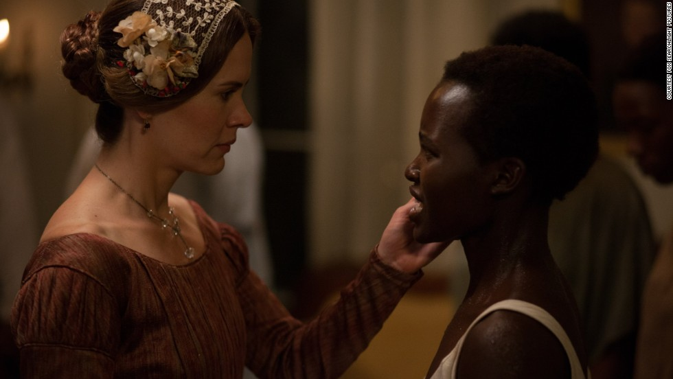 """""""In praising me, I feel like (Patsey's) spirit is being uplifted,"""" Nyong'o said, """"because what I met in those pages of Solomon Northup's book was heartbreaking."""""""