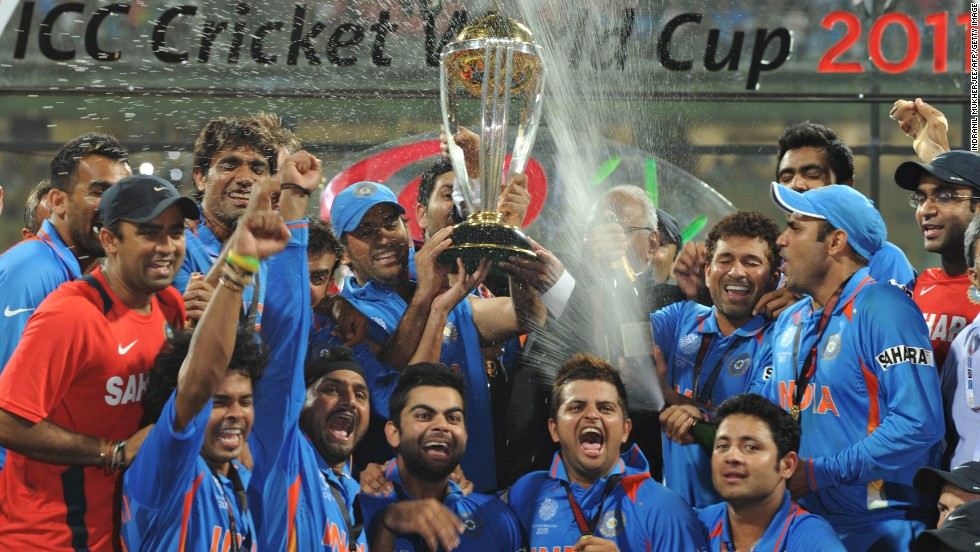 India's cricket team are the world champions, after beating Sri Lanka by six wickets in the 2011 final of the Cricket World Cup in 2011. The win spread euphoria across the nation.