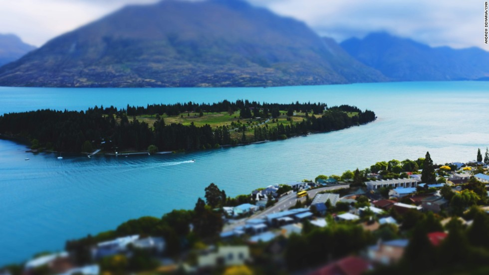Queenstown sits on Lake Wakatipu, New Zealand's longest at 80 kilometers. Some brave souls swim in the chilly waters, but boat charter is a more popular option for taking in the incredible views.