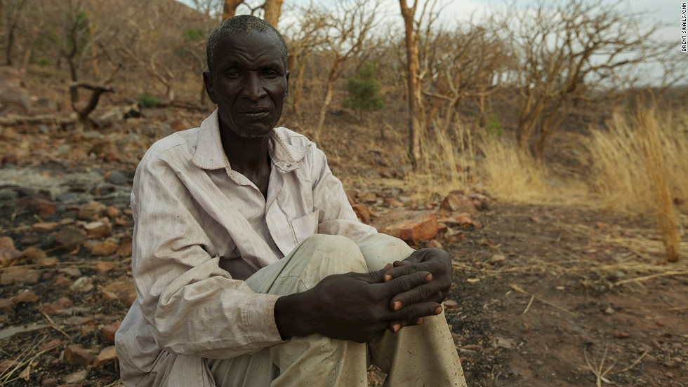 Djimet Seid is the lone survivor of the Heban attack, the site where six rangers were killed by poachers. He and others had emerged for morning prayers when they were ambushed. The poachers fired from three separate locations. Seid was wounded, but escaped by jumping off the side of a cliff and waiting until nightfall to seek help.