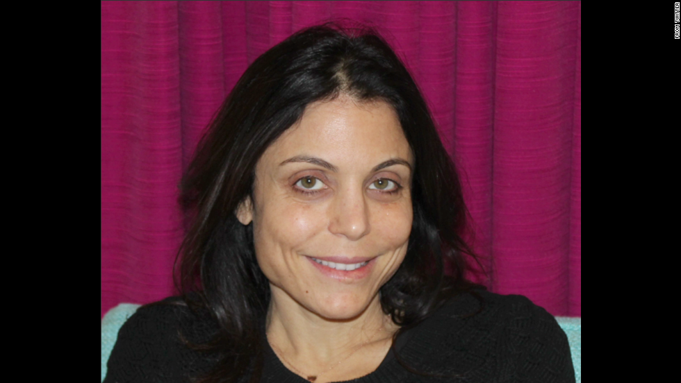 "Talk-show host Bethenny Frankel<a href=""https://twitter.com/Bethenny/status/432931745717960705"" target=""_blank""> tweeted a picture </a>of herself without makeup in February 2014. ""This is my 'it's Monday' face, which looks very similar to my 'I'm exhausted and it's only Monday' face,"" she wrote."