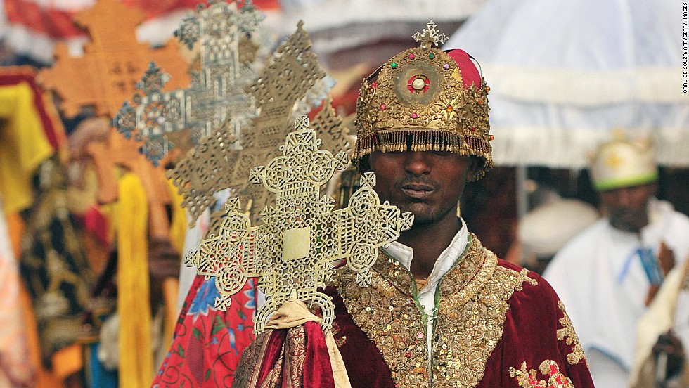 For most Ethiopians, Timket is the only time of year they can get close to the sacred tabots. The procession of the relics is accompanied by chanting, singing and the beating of drums.