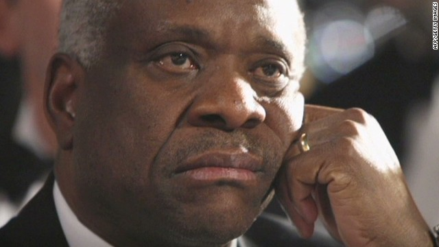 A 2014 report: Why is Justice Thomas 'supremely' silent?