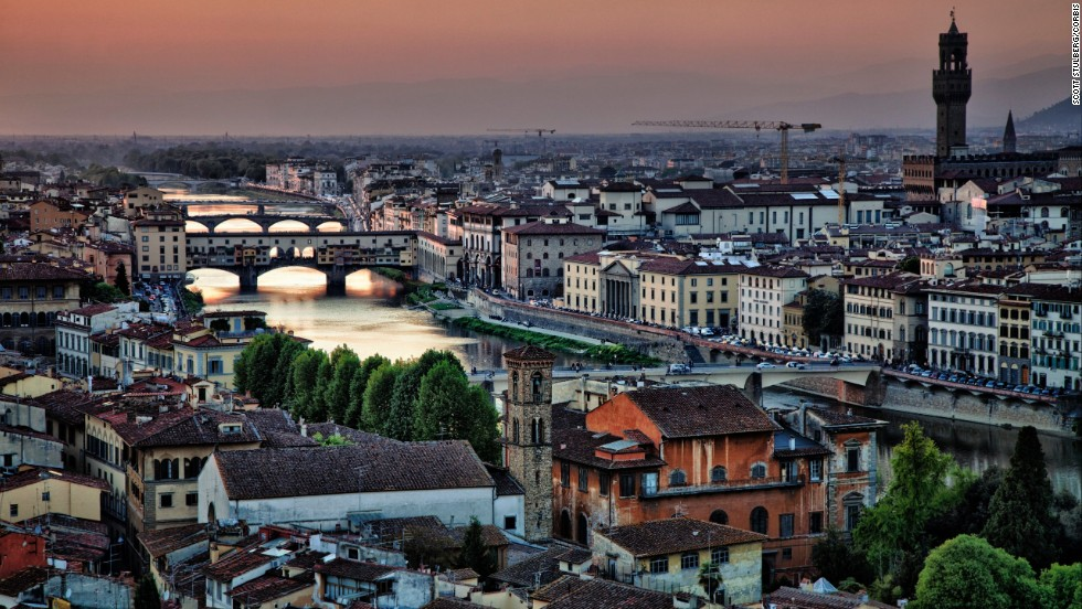 No change at the number three spot on the list for 2014. The Italian city of Florence continues to impress visitors with its incredible collections of art and architecture.
