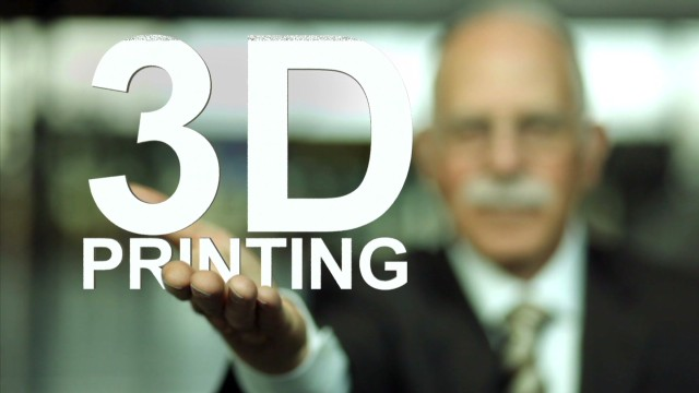 Meet the genius behind 3-D printing