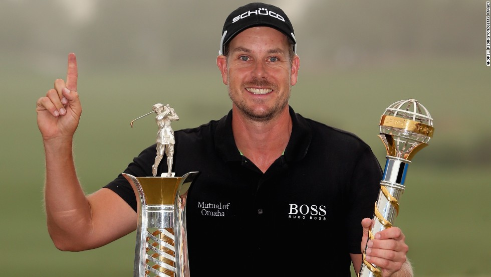 He followed it by winning the European Tour's Race to Dubai. No golfer had ever achieved this prestigious double.