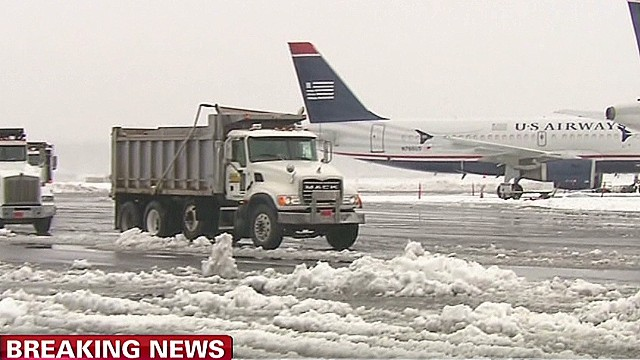 Reopening an airport in the storm?