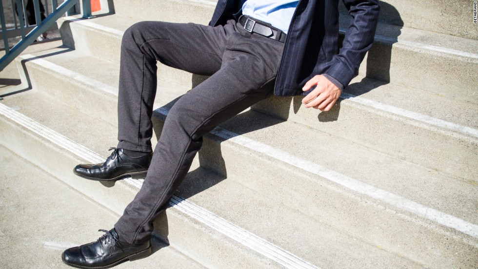 Betabrand is a a crowd-funding clothing company where customers fund and vote on what gets made and sold. These are the Dress Pant Sweatpants. Your co-workers will never know.