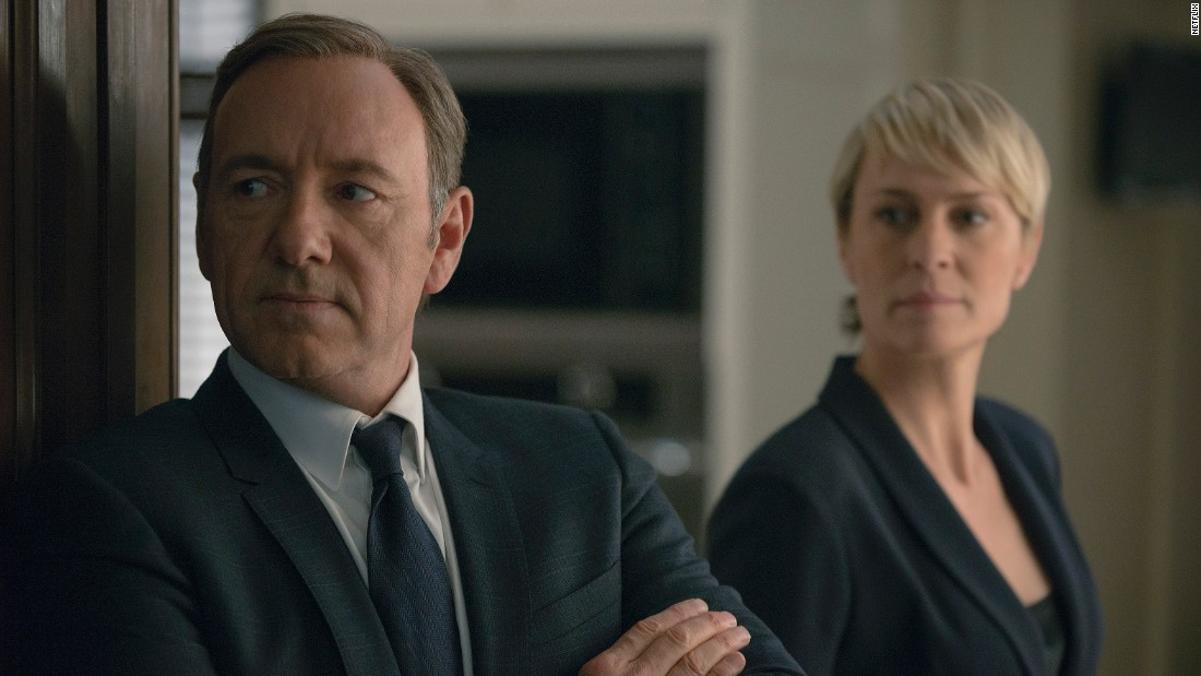 "<strong>Best actor in a TV series -- drama:</strong> Kevin Spacey, ""House of Cards"""
