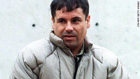 "Sinaloa cartel boss Joaquin ""El Chapo"" Guzman, pictured here in 1993, has been deemed by Forbes as the most powerful criminal on the planet."