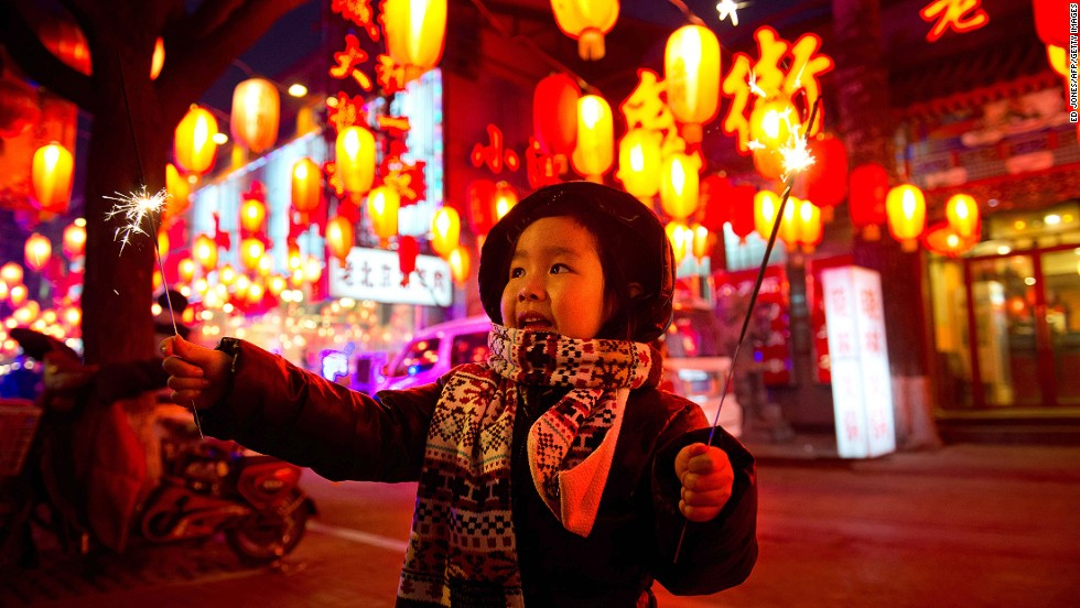 Lunar New Year celebrations begin with blazing fireworks and overeating, and end with the same activities. Traditionally, families gather to eat tangyuan (glutinous rice balls stuffed with sweet or savory fillings in soup) and admire lanterns.