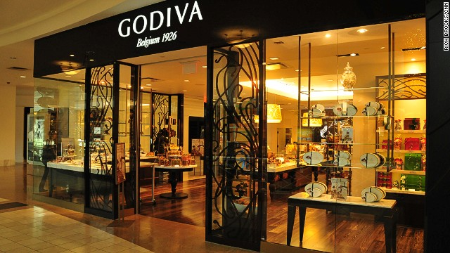 Godiva Chocolate Store at Lenox Square Mall