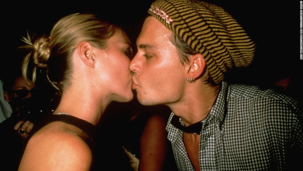From 1994 to 1998, Depp made one-half of Hollywood's hottest couple as he found love with supermodel Kate Moss.