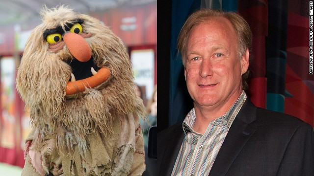 "John Henson, son of Jim Henson, voiced ""The Muppets"" character Sweetums."