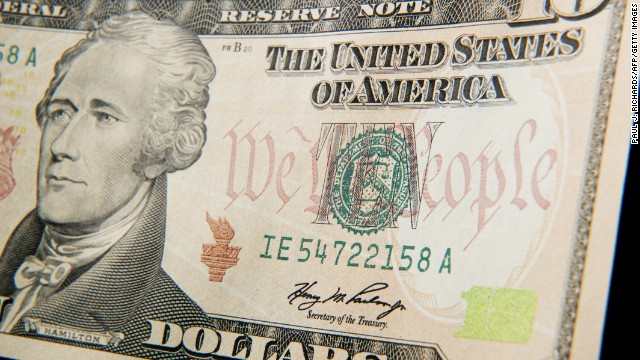 Alexander Hamilton graces the $10 bill but was never president.