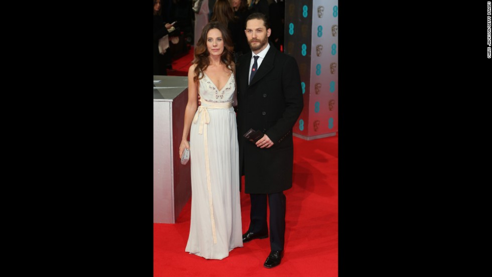Kelly Marcel and Tom Hardy