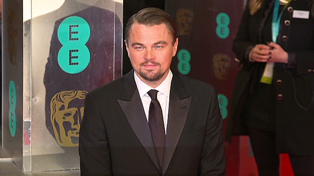 Which stars spoke to CNN at the BAFTA's?