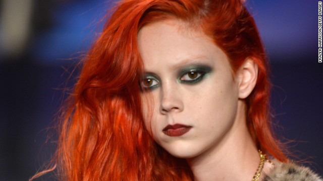 Fiery redhead fashion is flipping for