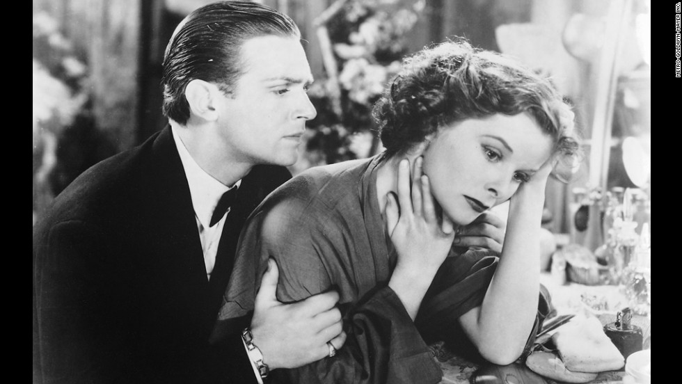 "Douglas Fairbanks Jr. and Katharine Hepburn appear in the 1933 film ""Morning Glory."" Hepburn's performance earned her the best actress Oscar in 1934. There was no Academy Awards ceremony in 1933; films from that year and the last half of 1932 were eligible to win at the 1934 ceremony."
