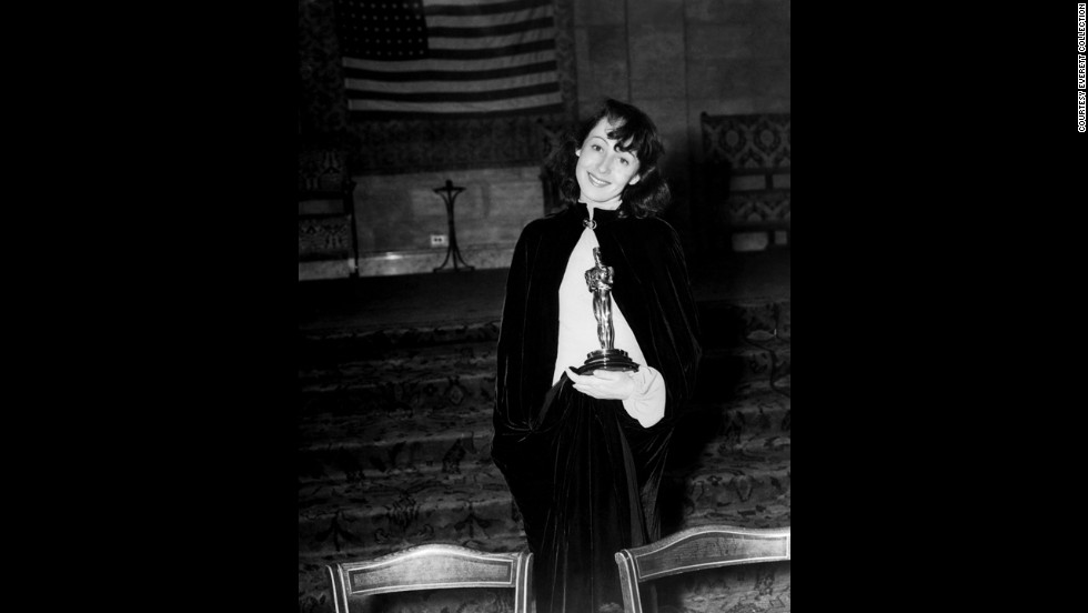 """For her performance in """"The Good Earth,"""" Luise Rainer won the best actress Oscar for the second consecutive year."""