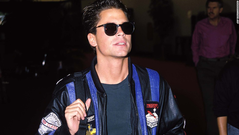 "Rob Lowe was part of a group of celebs in Atlanta in 1988 for the Democratic National Convention when he was recorded having sex in a hotel room with a 16-year-old and her 23-year-old friend. In 2011, the ""Parks and Recreation"" <a href=""http://marquee.blogs.cnn.com/2011/04/28/rob-lowe-on-that-infamous-sex-tape/"">star told Oprah Winfrey</a> that he had no idea at the time that one of the young women was underage."