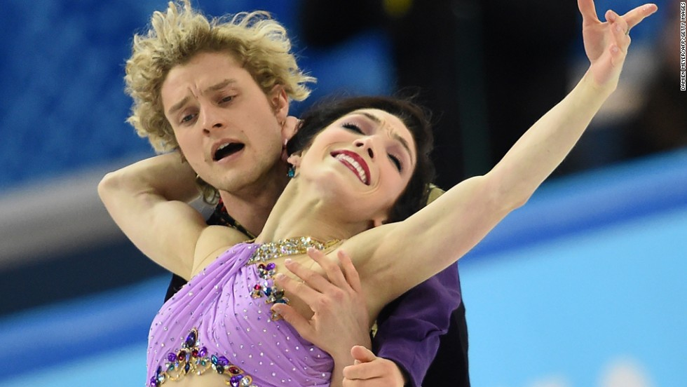 Charlie White and Meryl Davis made up for being beaten to gold by Scott Moir and Tessa Virtue at Vancouver 2010 by winning the United States' first ice dancing title in Sochi, leaving the Canadians in second place. Both pairs are coached by Russian Marina Zoueva.