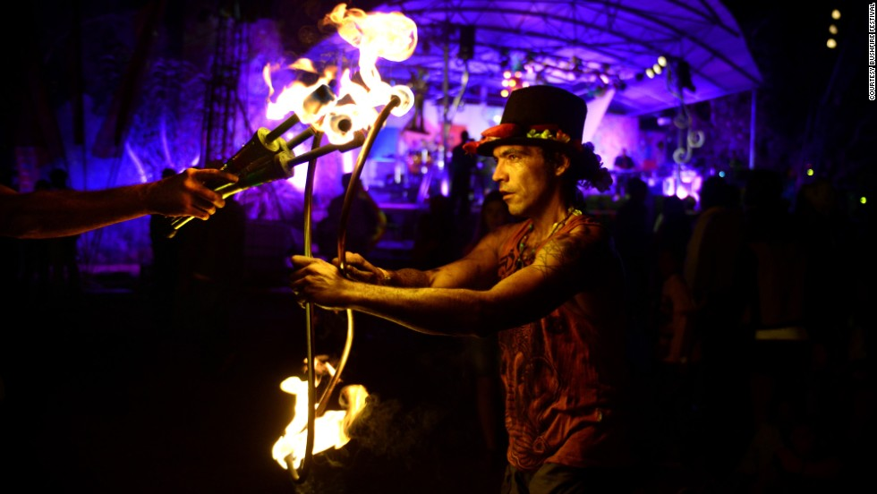 "Bushfire calls on visitors to ""Bring their Fire"" to the Festival and into their everyday lives, and to promote a collective response for positive change."